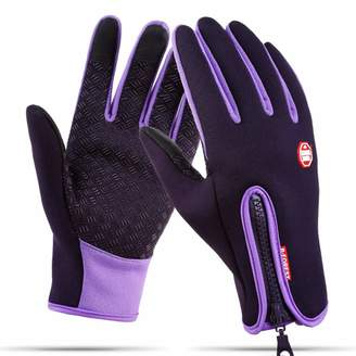 Lisianthus Winter Termal Gloves Touchscreen Waterproof for Men & Women L