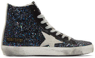 Golden Goose Multicolor Glitter Francy Sneakers