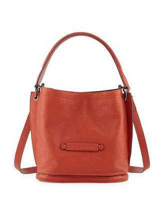 Longchamp Longchamp 3D Leather Crossbody Bag, Brick $595 thestylecure.com