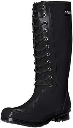 Roma Boots ROMA Women's OPINCA Lace-Up Rain Boots