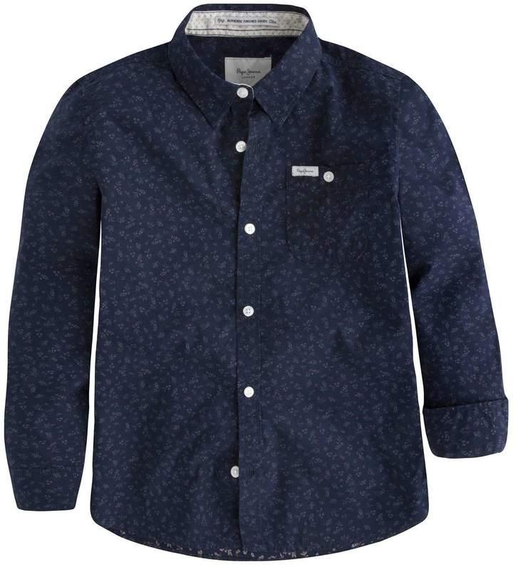 Pepe Jeans London Alec - Langärmliges Hemd - jeansblau