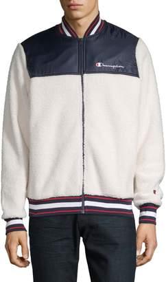 Champion Reverse Weave Textured Logo Jacket