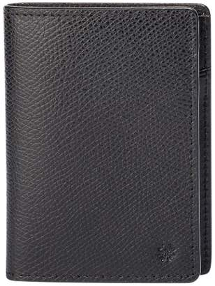 hook + ALBERT Hook & Albert Leather Vertical Bi-Fold Wallet