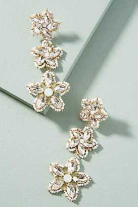 BaubleBar Tala Flower Drop Earrings