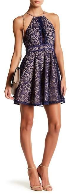 STYLESTALKER Adelie Crochet Lace A-Line Dress