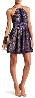Style Stalker STYLESTALKER Adelie Crochet Lace A-Line Dress