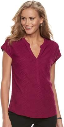 Dana Buchman Women's Textured Top
