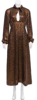 Vanessa Seward Jacquard Long Sleeve Dress