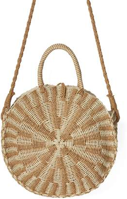 Billabong x Sincerely Jules Keep It Simple Woven Shoulder Bag