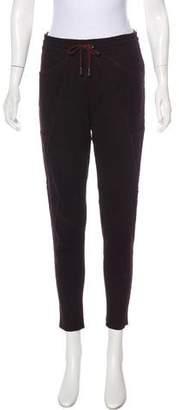 Isabel Marant Suede Skinny Pants