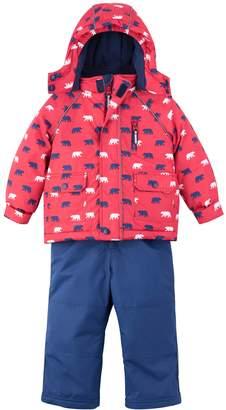 Hatley Polar Bear Water Resistant Insulated Jacket & Snow Bib Set
