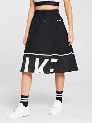 Nike Sportswear Mesh Skirt - Black