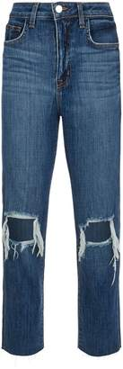 L'Agence Audrina Distressed Jeans