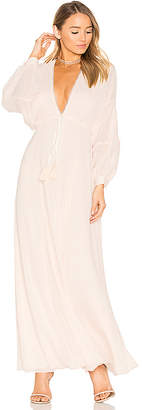 House of Harlow 1960 x REVOLVE Leslie Maxi Dress in Pink $248 thestylecure.com