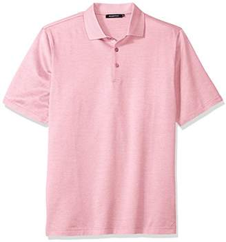 Bugatchi Men's Diego Short Sleeve Polo Shirt