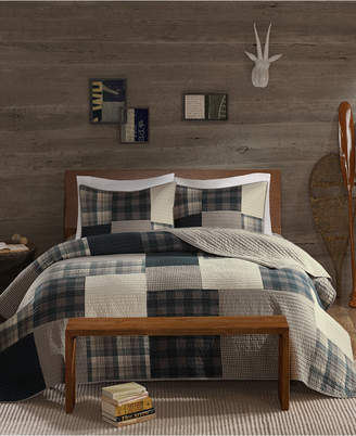 Woolrich Winter Hills Reversible 3-Pc. Oversized King/California King Quilt Mini Set