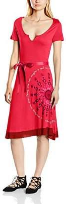 Desigual Women Similar Rep A-Line Dress,(Manufacturer Size: S)