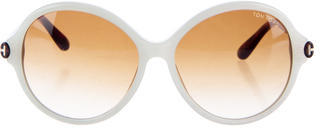 Tom Ford Tom Ford Colorblock Round Sunglasses