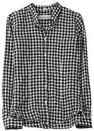 Golden Goose Checked Button Down