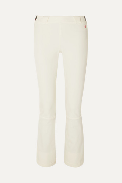 Perfect Moment - Ancelle Flared Ski Pants - White