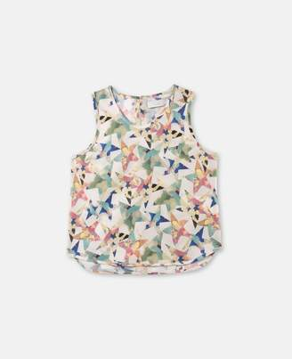 Stella McCartney kiri star print top