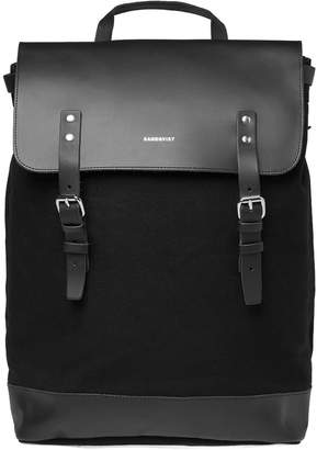 SANDQVIST Hege Canvas & Leather Backpack