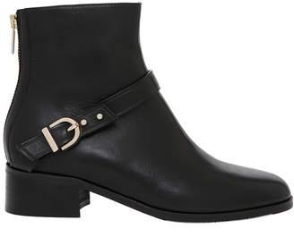 Maree Black Calf Leather Pump