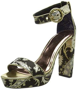 Womens Peetch Text Af Ornate Paisley Closed Toe Heels Ted Baker ikSlTBbe2