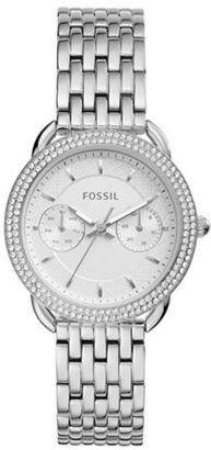 Fossil Tailor Stainless Steel Bracelet Watch $155 thestylecure.com