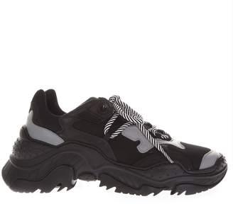 N°21 N.21 Billy Black & Gray Running Sneakers