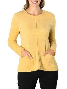 Marc O'Polo Marco Polo Long Sleeve Pkt Front Sweater