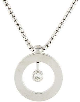 Roberto Coin 18K Cento Diamond Pendant Necklace