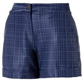 Puma Plaid Golf Shorts