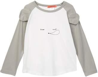Funkyberry Graphic Print Raglan Shirt (Toddler, Little Girls, & Big Girls)