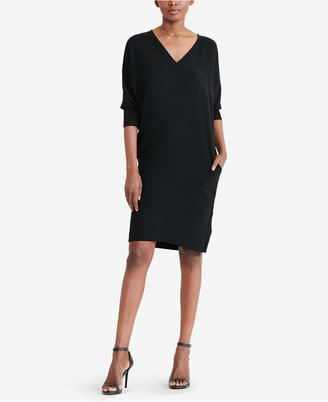 Lauren Ralph Lauren Crepe Shift Dress $145 thestylecure.com
