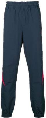 Diadora logo stripe track trousers