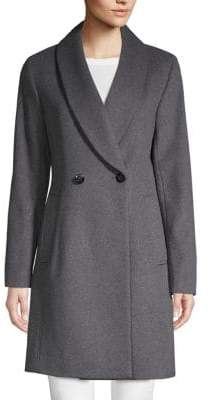 Calvin Klein Classic Double-Breasted Coat
