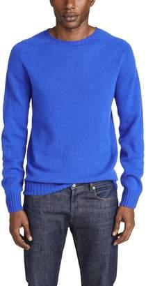 Officine Generale Seamless Scottish Wool Sweater