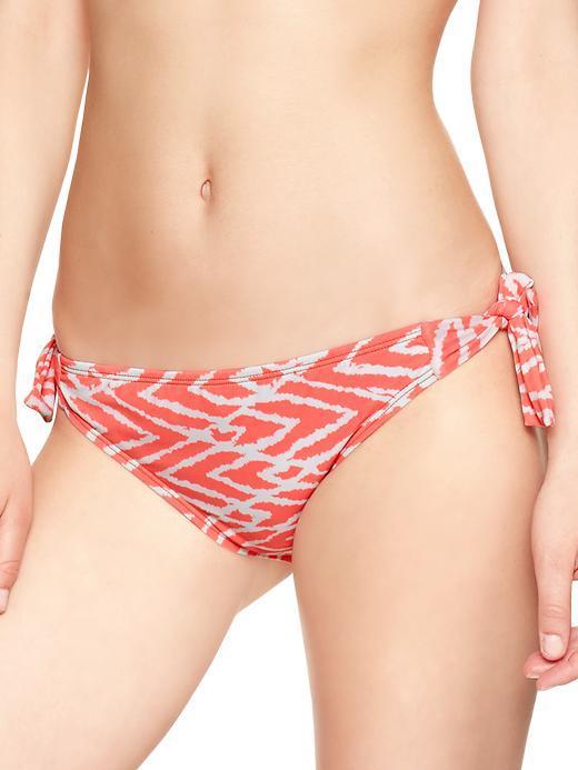 Gap Printed side-tie bikini