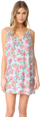 Wildfox Dusty Rose Lily Slip Dress $98 thestylecure.com