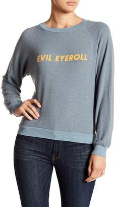 Wildfox Couture Evil Eyeroll Sweater