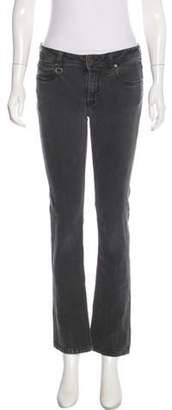 Burberry Mid-Rise Straight-Leg Jeans Mid-Rise Straight-Leg Jeans