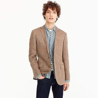 J.Crew Ludlow blazer in Italian linen-silk