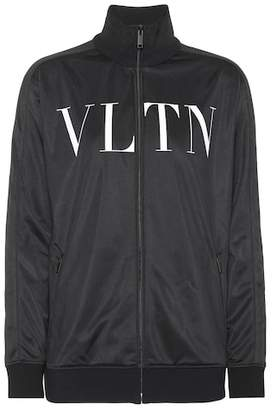 Valentino (ヴァレンティノ) - Valentino Printed jersey track jacket