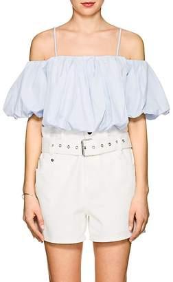 3.1 Phillip Lim Women's Cotton Voluminous Crop Top
