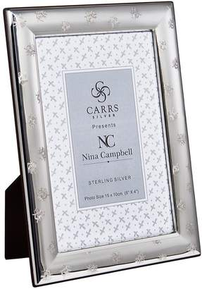 """Carrs of Sheffield Silver Sterling Silver Bee Photo Frame (6""""x4"""")"""