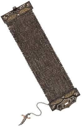 Sevan Biçakci Sword motif chain mail bracelet