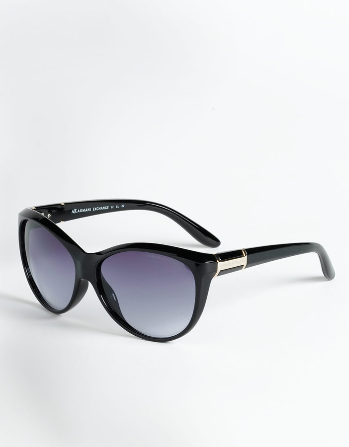 ARMANI EXCHANGE Cat Eye Sunglasses