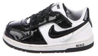 Nike Boys' Patent Leather Low-Top Sneakers