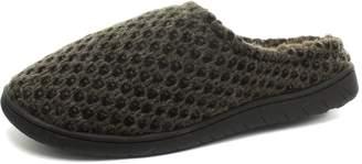 Dunlop Abelard Knitted Mens Mule Slippers, Size 10